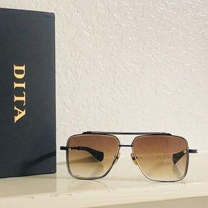 DITA Mach Six Sunglasses Matt Black